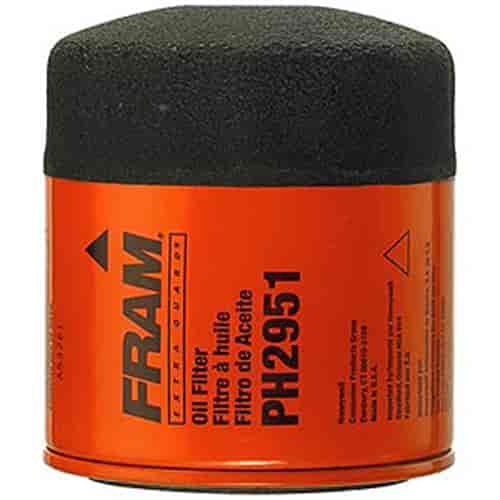 fram ph2951 extra guard oil filter thread size 3/4''-16 ... fram fuel filters applications fram fuel filters in line #5