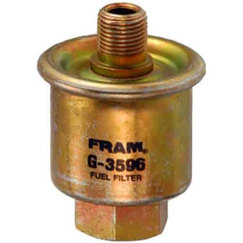 [SCHEMATICS_49CH]  Fram G3596: In-Line Gasoline Filter Height: 3.67