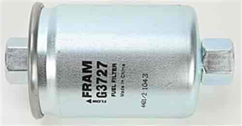 [SCHEMATICS_48ZD]  Fram G3727: In-Line Gasoline Filter Height: 4.3