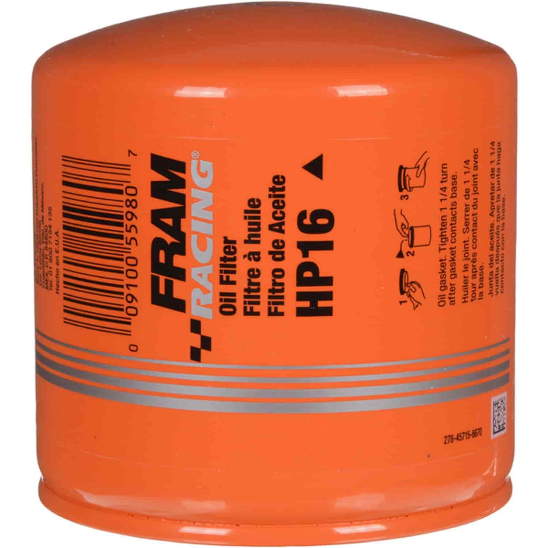 Fram Hp16 Hp Series Oil Filter Ford 46 54l Mopar 57l V10 Jegs 1999 Expedition Fuel Removal