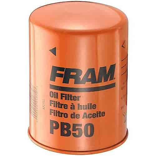 fram pb50 extra guard oil filter thread size 5 8 18 th d jegs
