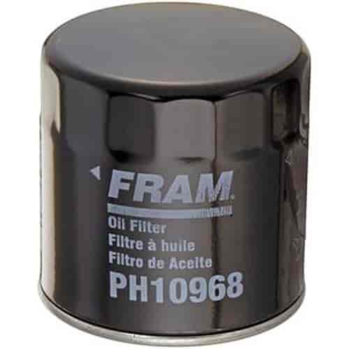 fram ph10968 extra guard oil filter thread size 3 4 16 jegs
