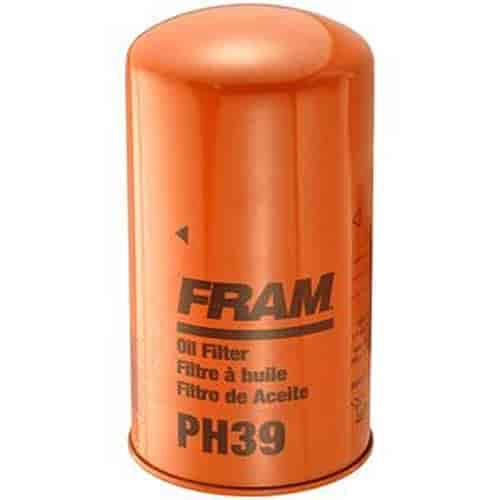diesel fuel filters fram ph39 extra guard oil filter thread size 1