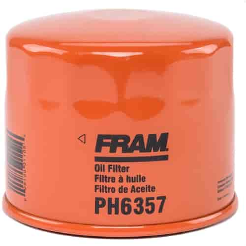 fram ph6357 extra guard oil filter thread size th d jegs