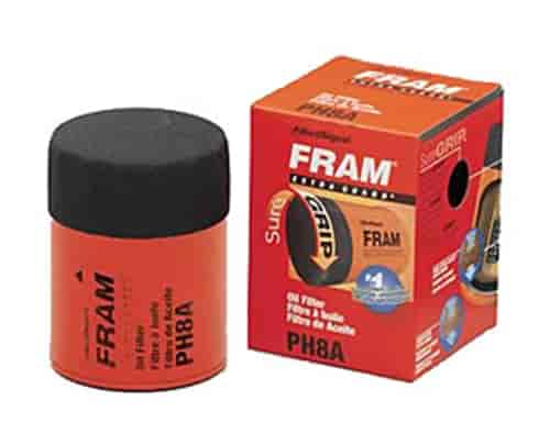 fram ph8a extra guard oil filter thread size 3 4 16 jegs