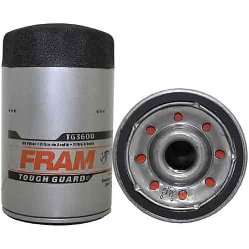 [EQHS_1162]  Fram TG3600: Tough Guard Oil Filter Thread Size: 3/4