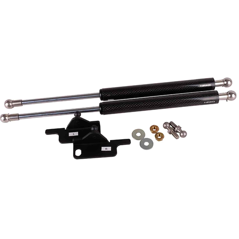 NRG Innovations HD-120CF Carbon Fiber Hood Damper Kit