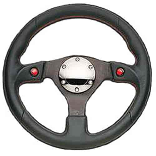NRG Innovations ST-007R - NRG Innovations Two-Button Steering Wheels