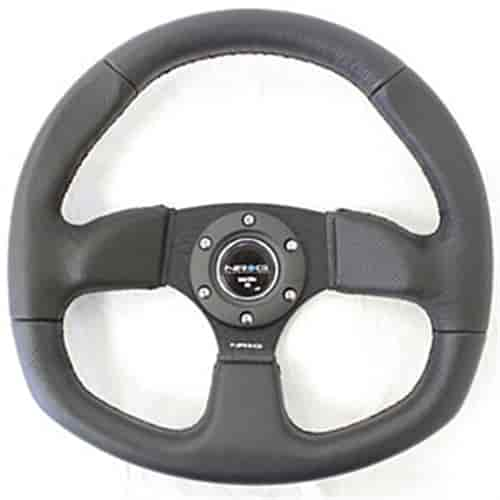 NRG Innovations ST-009R - NRG Innovations Flat Bottom Series Steering Wheels