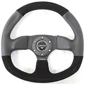 NRG Innovations ST-009S - NRG Innovations Flat Bottom Series Steering Wheels