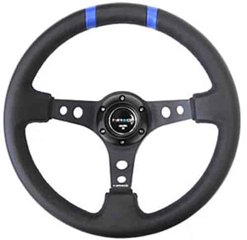 NRG Innovations ST-016R-BK - NRG Innovations Limited Edition Sport Steering Wheels