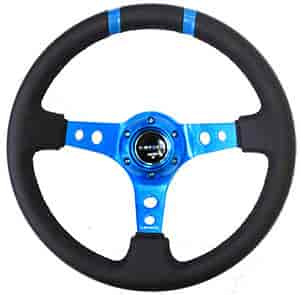 NRG Innovations ST-016R-NB - NRG Innovations Limited Edition Sport Steering Wheels