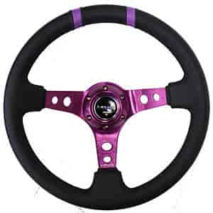 NRG Innovations ST-016R-PP - NRG Innovations Limited Edition Sport Steering Wheels