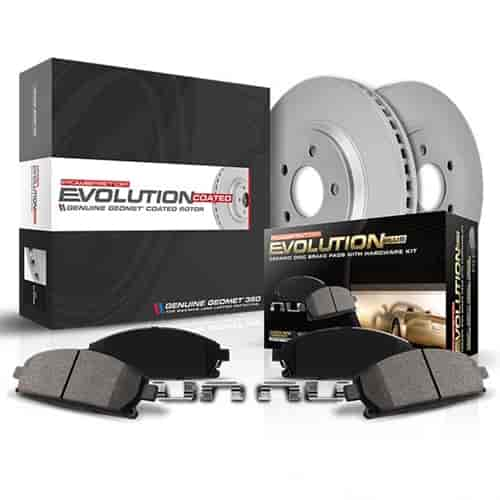 Power Stop CRK6516 front and rear Z17 Evolution Geomet Coated Brake Kit