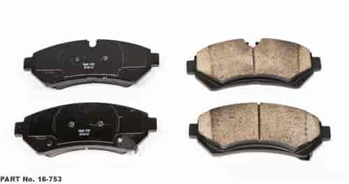 Power Stop 16-753 - Power Stop Z16 Evolution Ceramic Brake Pads