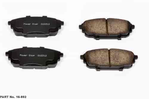 Power Stop 16-892 - Power Stop Evolution Z16 Clean Ride Ceramic Brake Pads