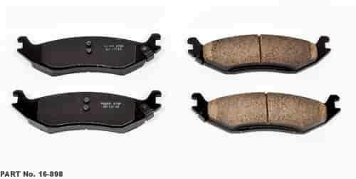 Power Stop 16-898 - Power Stop Z16 Evolution Ceramic Brake Pads