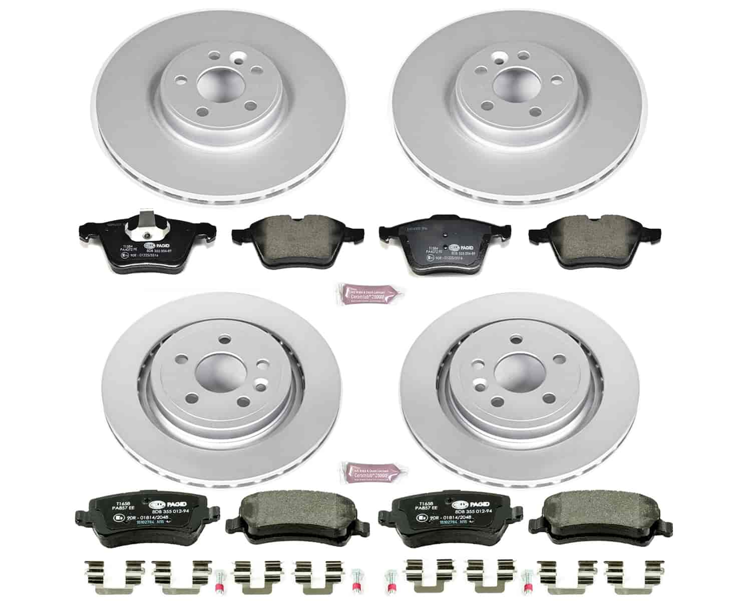 Front Axle BRAKE PADS SET for VOLVO XC70 3.2 2007-2014