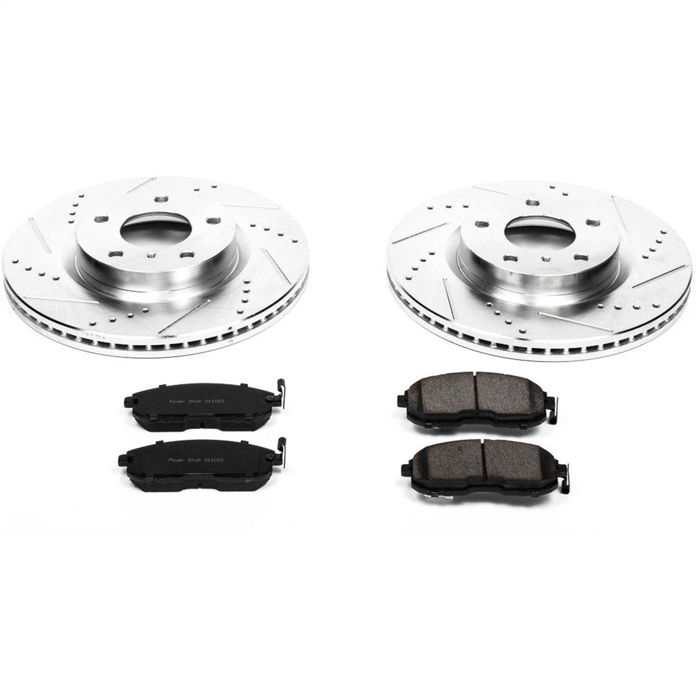 Power Stop Z23 Evolution Brake Kit for Nissan 350Z, Infiniti G35
