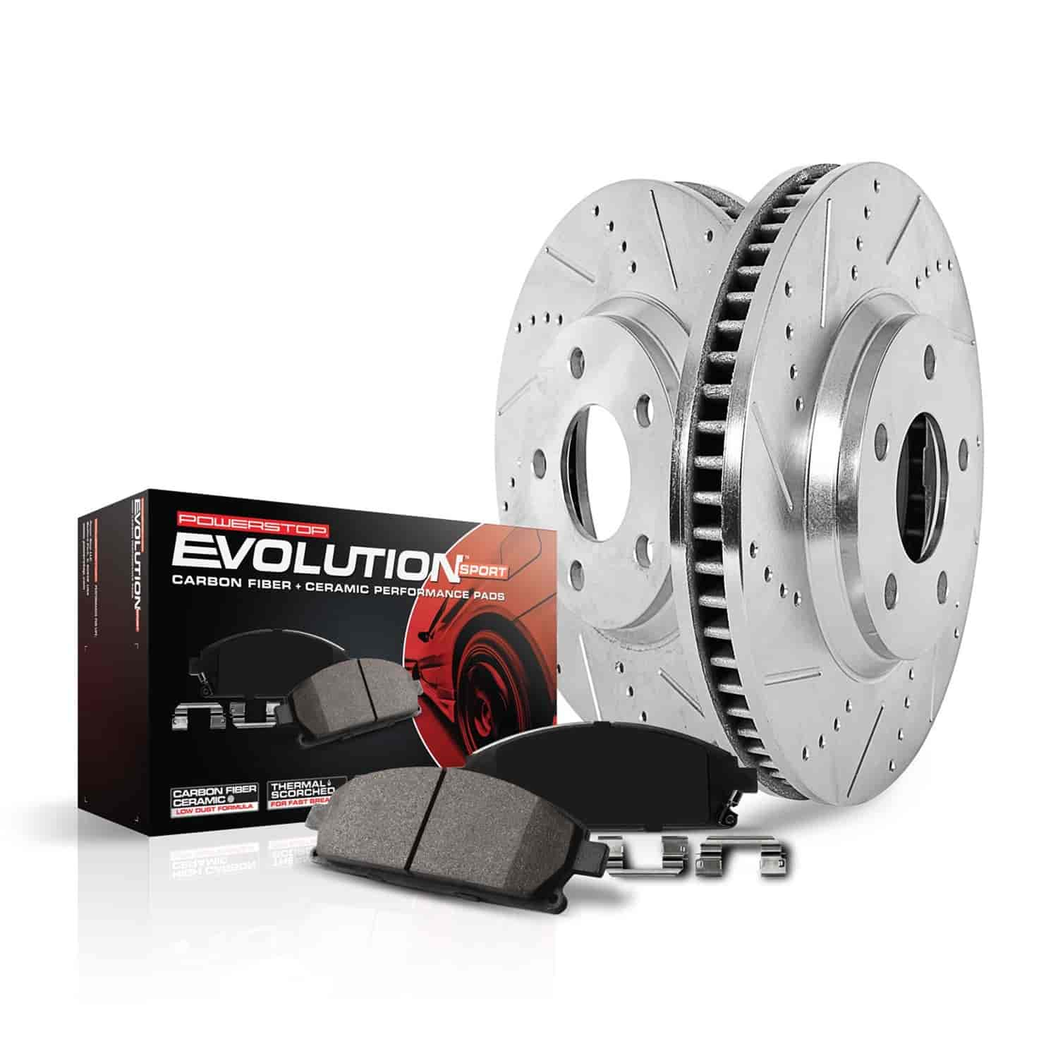 2004 2005 Chevy Cavalier OE Replacement Rotors w//Ceramic Pads F