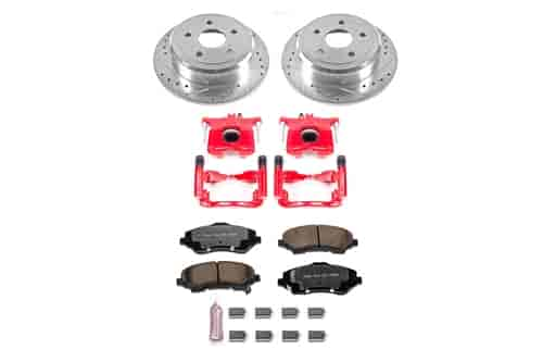 K3166-36 Z36 Extreme Severe-Duty Truck /& Tow Brake Kit Front and Rear Power Stop