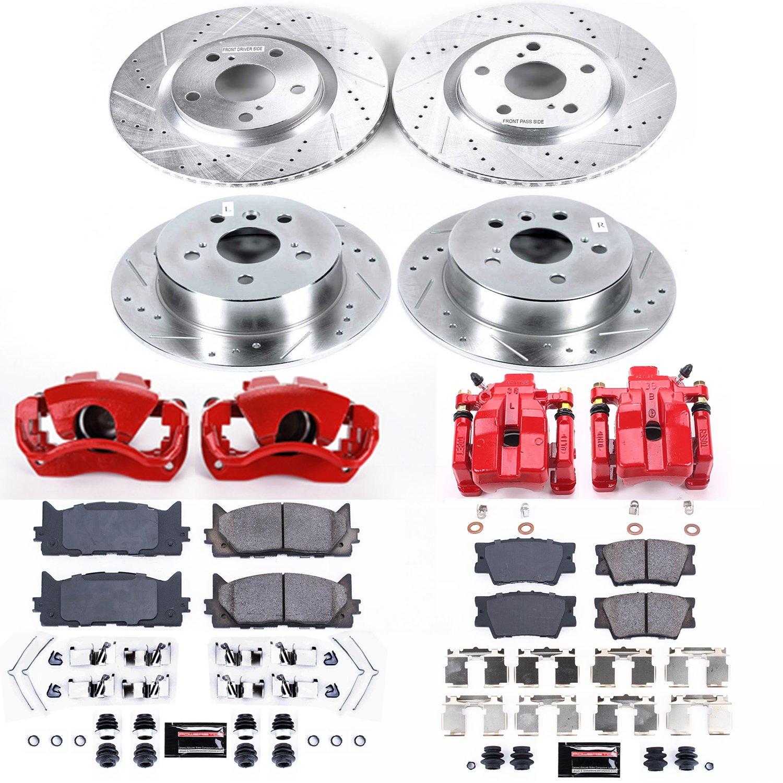 Power Stop K6805 Z23 Evolution Sport Performance 1-Click Brake Kit