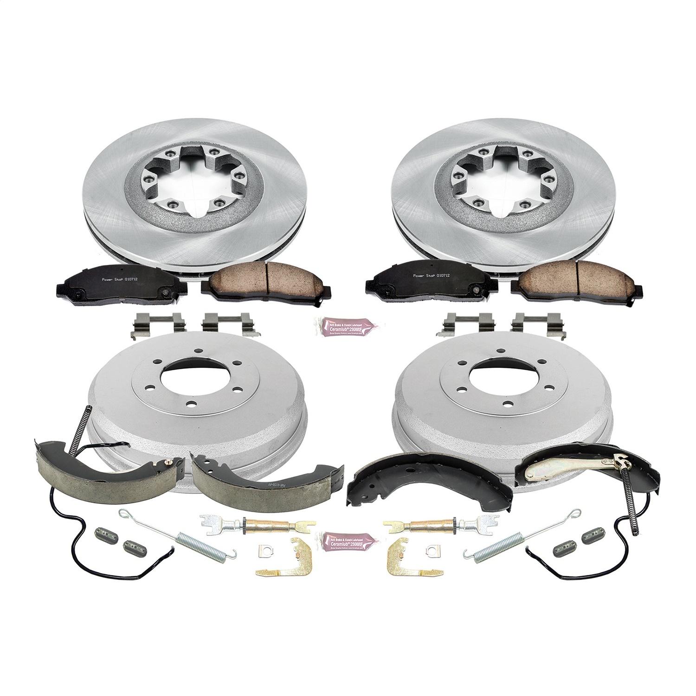 For Chevy Colorado 2004-2008 Power Stop Autospecialty Rear Drum Brake Shoes