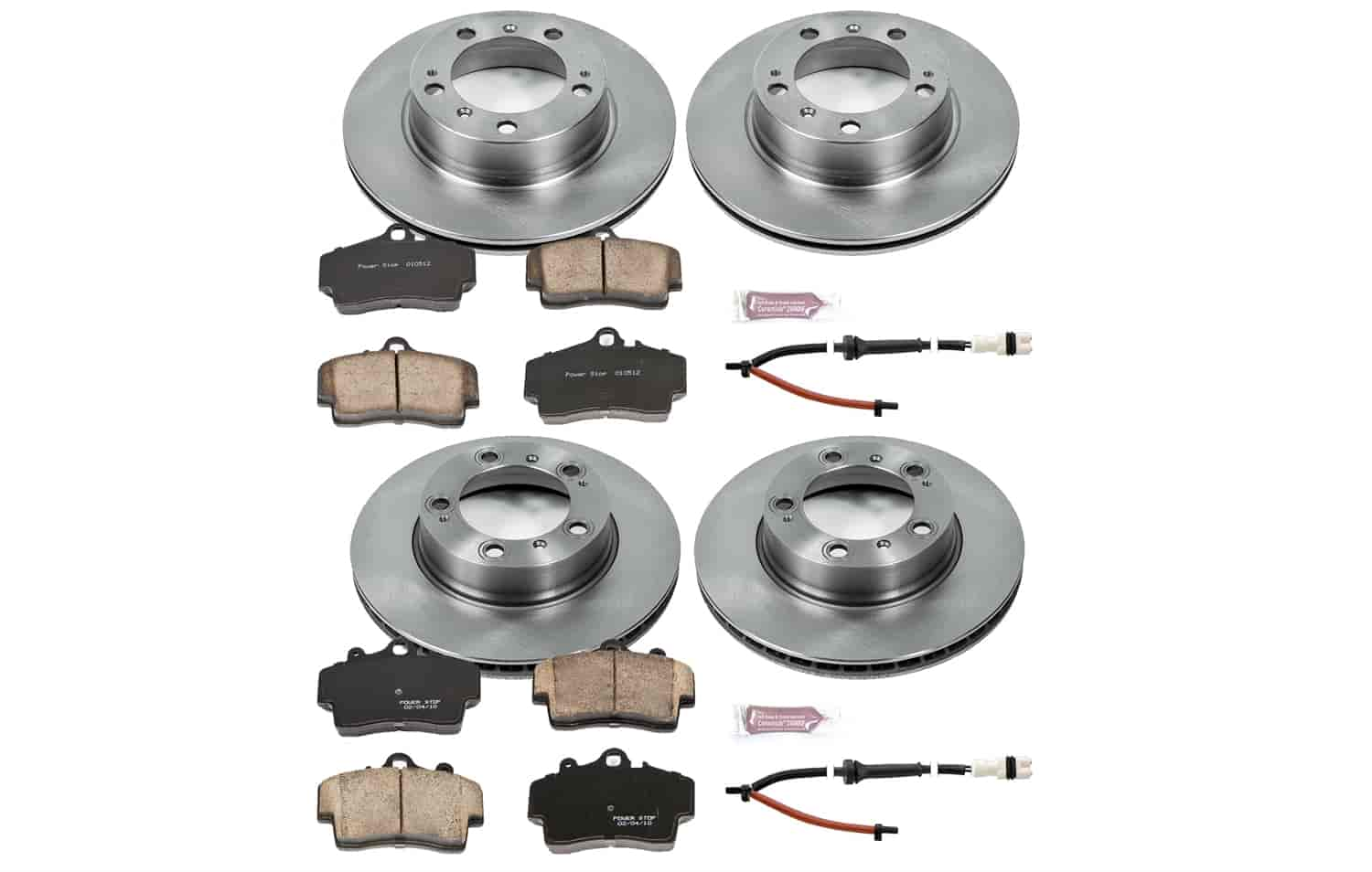 1-Click OE Replacement Brake Kit Power Stop KOE4406 Autospecialty