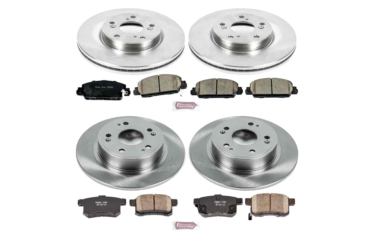 Power Stop KOE4454 Autospecialty Daily Driver OE Brake Kit