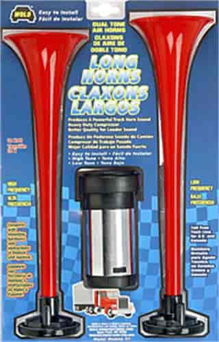 WOLO 417 - WOLO Long Horns Air Horn