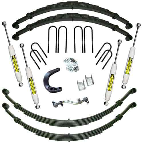 Superlift Suspension Systems K424