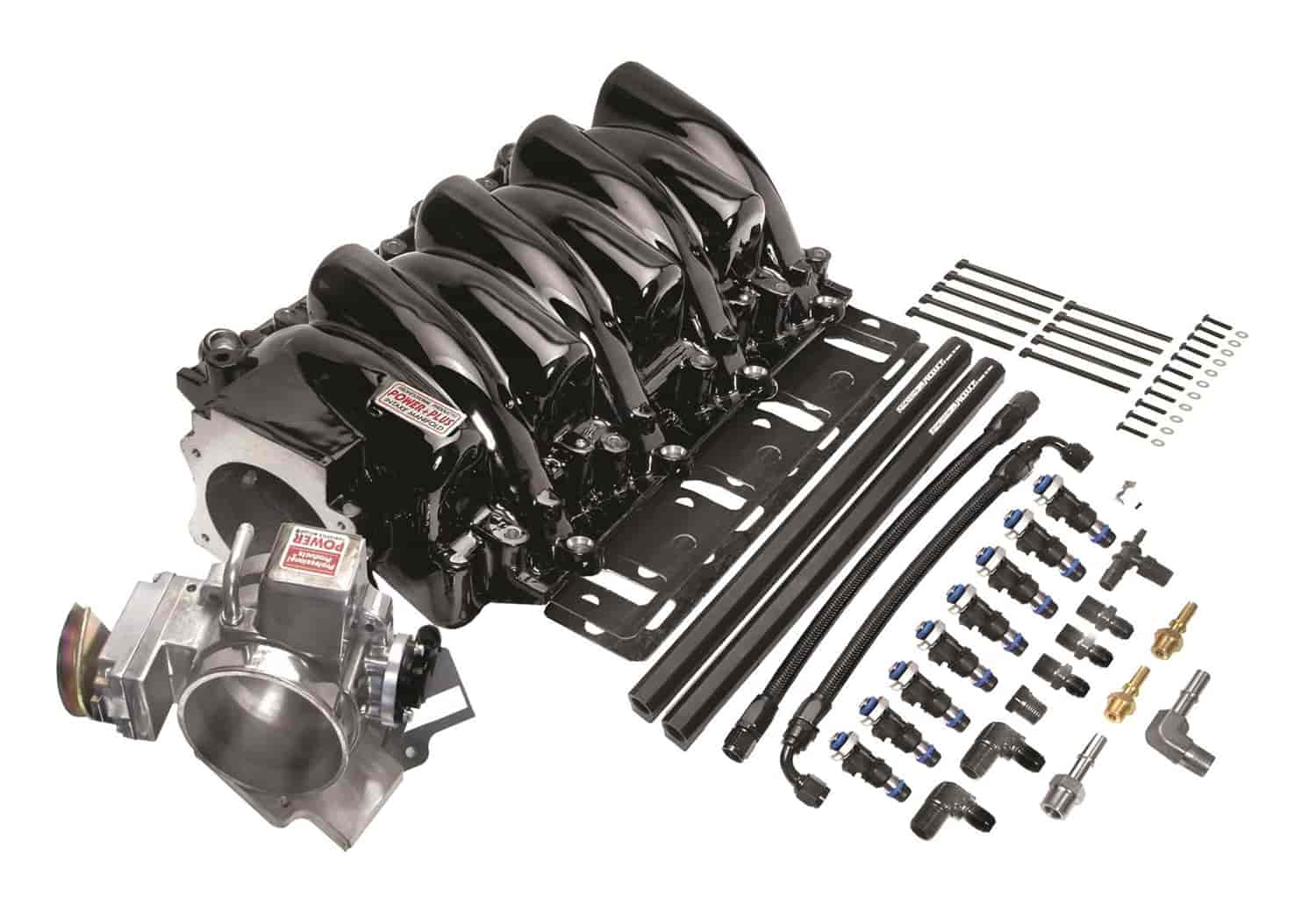 Professional Products Typhoon Intake Manifold LS1 Chevrolet EFI with  Throttle Body and Injectors