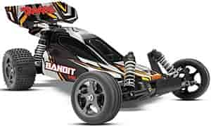 Traxxas 2407-BLACK - Traxxas Bandit VXL Electric Buggy