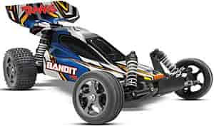 Traxxas 2407-BLUE - Traxxas Bandit VXL Electric Buggy