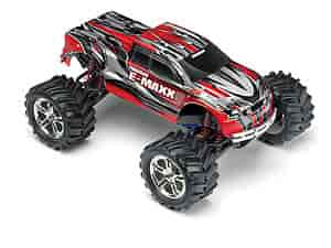 Traxxas 3903-RED - Traxxas E-Maxx 4x4 Monster Truck