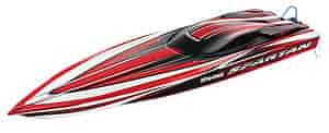 Traxxas 5707-RED - Traxxas Spartan Brushless Race Boat