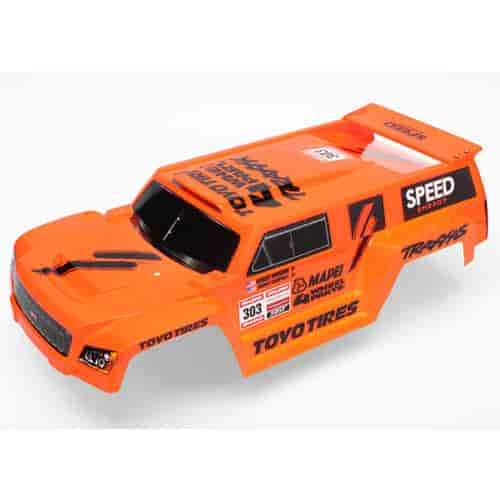 Traxxas 5818a Dakar Slash Body Orange Painted W Pre