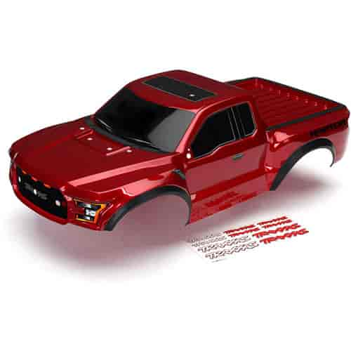Traxxas 5826R Ford Raptor Body Ruby Red