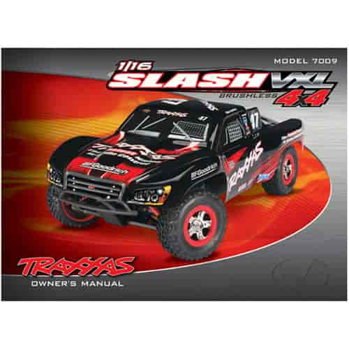 traxxas 7098 owners manual 1 16 slash 4wd vxl model 7009 jegs rh jegs com traxxas slash 4x4 user manual traxxas slash owners manual