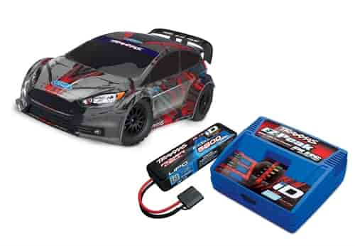 Traxxas 74054 4k Ford Fiesta St Rally 4wd 1 10 Scale Car