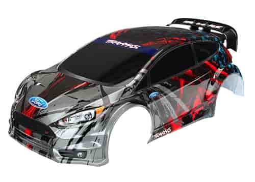 Traxxas 7416 Ford Fiesta St Rally Replacement Body