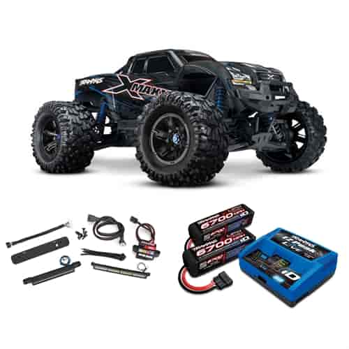 Traxxas X Maxx 4wd Monster Truck With Battery Charger And Led Light Kits