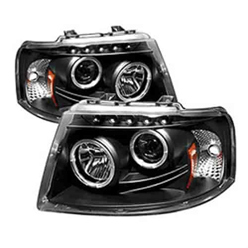Spyder Auto 5010117 Halo Led Projector Headlights