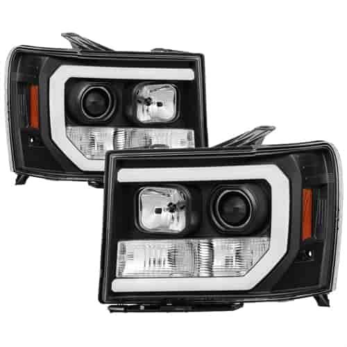 Spyder Auto 5083630 Light Bar DRL LED Projector Headlights