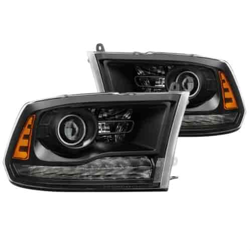 Spyder Auto xTune LED Projector Headlights 2013-2017 Dodge Ram  1500/2500/3500