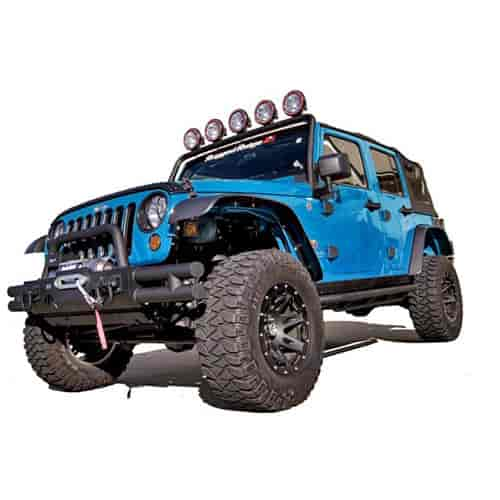 Rugged Ridge 11620.10 - Rugged Ridge All-Terrain Fender Flares