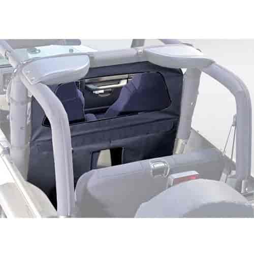 Rugged Ridge 13552.15 - Rugged Ridge Roll Bar Curtains
