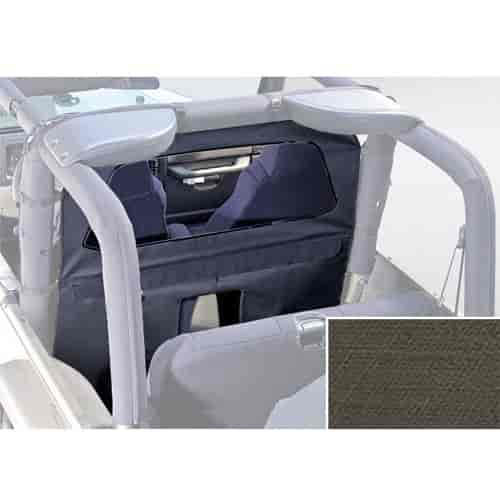 Rugged Ridge 13552.36 - Rugged Ridge Roll Bar Curtains