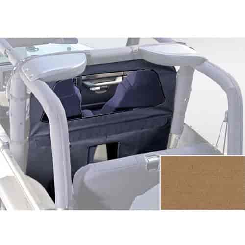 Rugged Ridge 13552.37 - Rugged Ridge Roll Bar Curtains