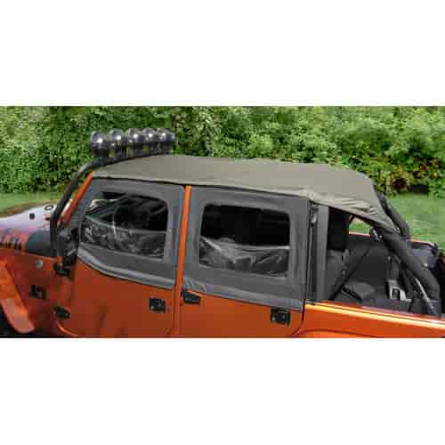 Rugged Ridge 13592.36 - Rugged Ridge Pocket Island Toppers